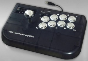 xcmdominator 300x210 Retro Arcade Joystick Announced for the PS3